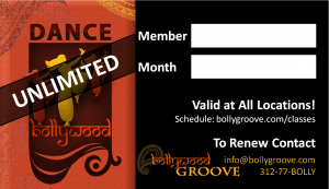 Bollywood Groove Unlimited Monthly Pass